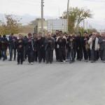 پیاده روی خانوادگی عزاداران حسینی به مناسبت اربعین امام حسین (ع)در شهرستان سرخه