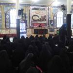 پنجمین همایش رهروان حضرت زینب (س) در مصلای نماز جمعه شهرستان سرخه