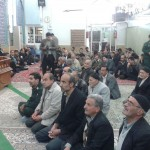 (بزرگداشت حماسه تاریخی ۹ دی در مسجد ولی عصر(عج)شهرستان سرخه)
