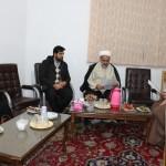دیدار مسئول دبیرخانه کانون های مساجد استان سمنان با امام جمعه محترم شهرستان سرخه