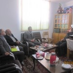 دیدار مدیرعامل کارخانه کربنات سدیم شهرستان سرخه با امام جمعه محترم