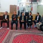 جلسه ستاد مردمی شهرستان سرخه با حضور امام جمعه محترم