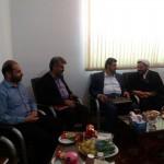 دیدار مدیر کل امور مالیاتی استان سمنان با امام جمعه شهرستان سرخه