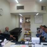حضور امام جمعه محترم در مرکز تامین اجتماعی شهرستان سرخه