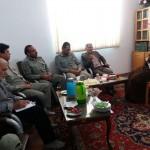 دیدار رئیس اداره محیط زیست شهرستان سرخه با امام جمعه محترم