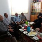 دیدار هیئت امنای تعزیه خوانی حضرت علی اکبر(ع) شهرستان سرخه با امام جمعه محترم