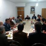 دیدار مدیران اجرایی شهرستان سرخه با امام جمعه محترم در هفته دولت