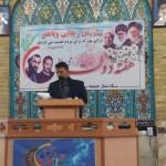 سخنرانی سرپرست فرمانداری شهرستان سرخه در نماز جمعه