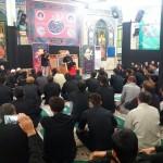 حضور امام جمعه و فرماندار شهرستان سرخه در مراسم متمرکز هیئات مذهبی افاغنه