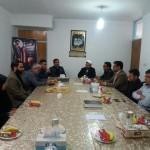 دیدار مدیریت اموزش و پرورش شهرستان سرخه به اتفاق فرماندهان بسیج دانش اموزی با امام جمعه محترم