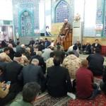 بزرگداشت سالروز نهم دی در مسجد ولیعصر (عج) شهرستان سرخه