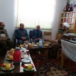 دیدار رئیس تامین اجتماعی شهرستان سرخه با امام جمعه محترم