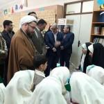 افتتاح نمایشگاه طلیعه سحر در شهرستان سرخه