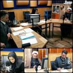 حضور امام جمعه محترم و فرماندار محترم شهرستان سرخه در برنامه رادیویی شکوه خدمت