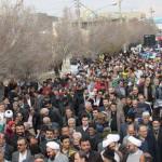 برگزاری راهپیمایی با شکوه ۲۲ بهمن در شهرستان سرخه
