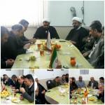 جلسه بررسی مسائل و ظرفیت های راه و ترابری در شهرستان سرخه