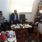 دیدار رئیس اداره ثبت اسناد شهرستان سرخه با امام جمعه محترم