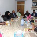 دیدار فرماندار و اعضای کمیسیون مبارزه با قاچاق کالا در شهرستان سرخه با امام جمعه محترم