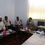 جلسه در خصوص انتقال حوزه علمیه برادران شهرستان سرخه به محل جدید