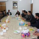 دیدار سردار هادی نژاد با امام جمعه شهرستان سرخه