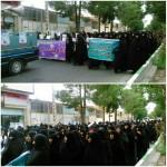 مراسم بزرگداشت روز ملی عفاف و حجاب در شهرستان سرخه