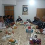 جلسه انجمن راویان دفاع مقدس شهرستان سرخه با حضور امام جمعه محترم