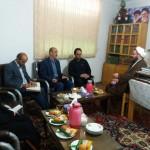 دیدار منتخبین شورای اسلامی شهر سرخه با امام جمعه محترم