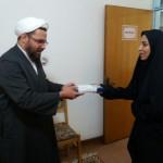 دیدار رئیس اداره فرهنگ و ارشاد اسلامی شهرستان سرخه به اتفاق تعدادی از خبرنگاران با امام جمعه محترم