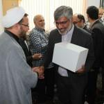 دیدار مسئولان استانی و شهرستانی با امام جمعه محترم به مناسبت هفته دولت