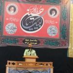 سخنرانی فرماندهی محترم نیروی انتظامی شهرستان سرخه در نماز جمعه