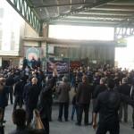 مراسم متمرکز روز اربعین در شهرستان سرخه