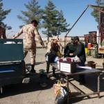 جمع اوری کمک های نقدی و غیر نقدی نمازگزاران جمعه برای مناطق زلزله زده غرب کشور