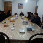 دیدار رئیس و پرسنل شبکه بهداشت شهرستان سرخه با امام جمعه محترم