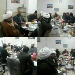 جلسه هم اندیشی شورای اسلامی شهر سرخه با روحانیت معظم