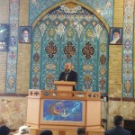 حضور استاندار معزز در نماز جمعه شهرستان سرخه و سخنرانی ایشان برای نمازگزاران محترم