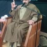 مراسم عزاداری به مناسبت شهادت حضرت زهرا (س) در شهرستان سرخه با سخنرانی امام جمعه محترم