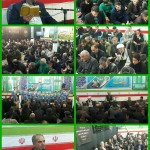 سخنرانی سردار اهوازیان در دعای ندبه صبح جمعه شهرستان سرخه