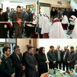 افتتاح نمایشگاه والفجر در شهرستان سرخه دردهه فجر