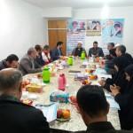 دیدار فرماندار و مسئولین اجرایی شهرستان با امام جمعه محترم