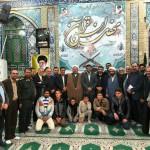 محفل انس با قران در مصلای نماز جمعه شهرستان سرخه