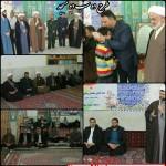 حضور امام جمعه و مسئولین شهرستان سرخه در روستای لاسجرد