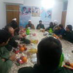 دیدار فرماندهی سپاه استان سمنان با امام جمعه شهرستان سرخه
