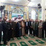 حضور ایت الله شاهچراغی ، مسئولین استانی و شهرستانی در نماز جمعه ۲۰ بهمن ۹۶ شهرستان سرخه