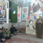 حضور امام جمعه محترم به اتفاق مسئولین شهرستان سرخه در روستای اروانه