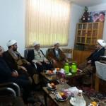 دیدار نماینده ولی فقیه در سپاه استان با امام جمعه شهرستان سرخه