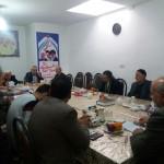 جلسه ستاد برادران نماز جمعه شهرستان سرخه