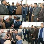 حضور معاون محترم وزیر راه و شهرسازی در شهرستان سرخه