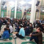 مراسم شهادت حضرت فاطمه زهرا (س) در مصلای نماز جمعه شهرستان سرخه