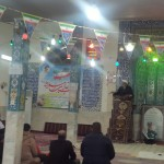 حضور امام جمعه و مسئولین شهرستان در روستای لاسجرد