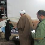 دیدار امام جمعه و مسئولین شهرستان با خانواده های معظم شهدا و جانبازان